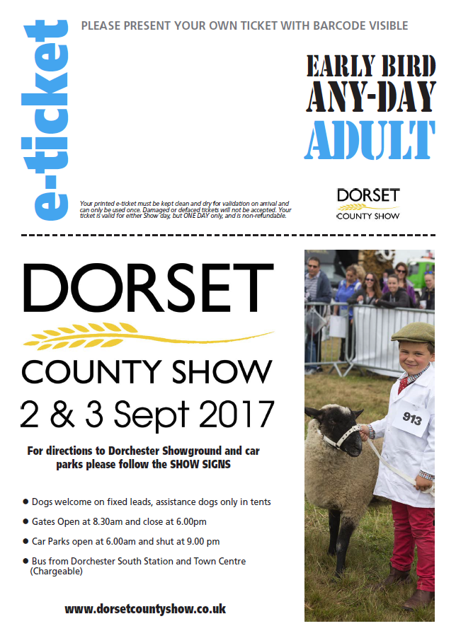 Tickets go on sale for this year's Dorset County Show