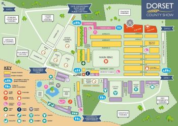 2017 Dorset County Show Map